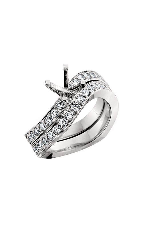 HL Mfg Engagement Sets Engagement ring 10472WSET product image