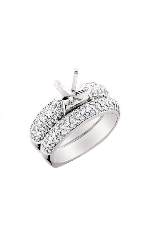 HL Mfg Engagement Sets Engagement ring 10464WSET product image