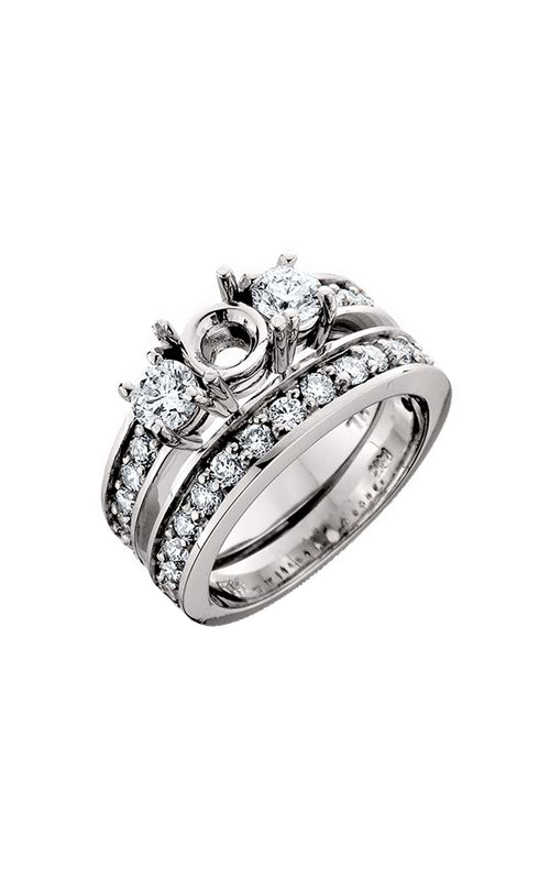 HL Mfg Engagement Sets Engagement ring 10448WSET product image