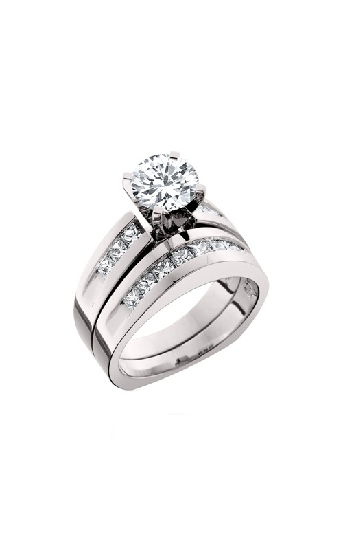HL Mfg Engagement Sets Engagement ring 10395WSET product image