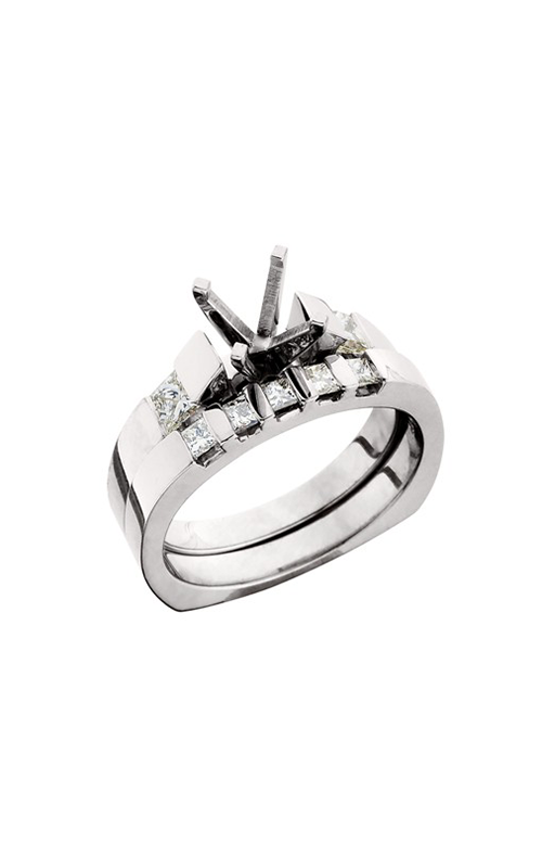 HL Mfg Engagement Sets Engagement ring 10384WSET product image