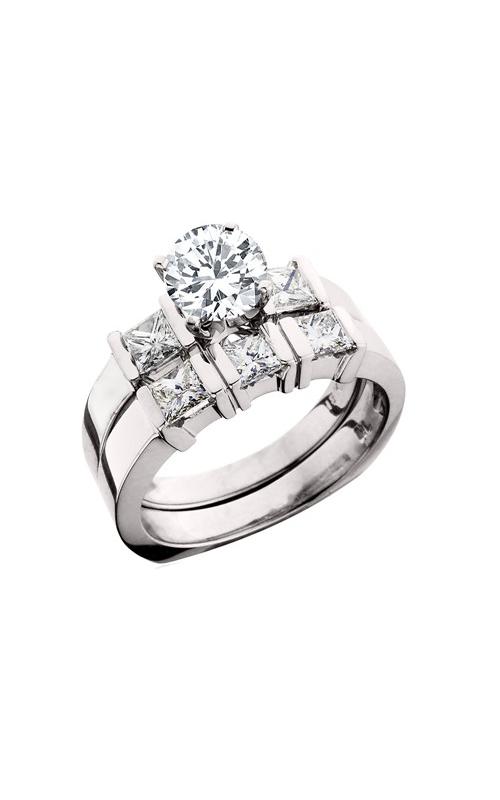 HL Mfg Engagement Sets Engagement ring 10380WSET product image