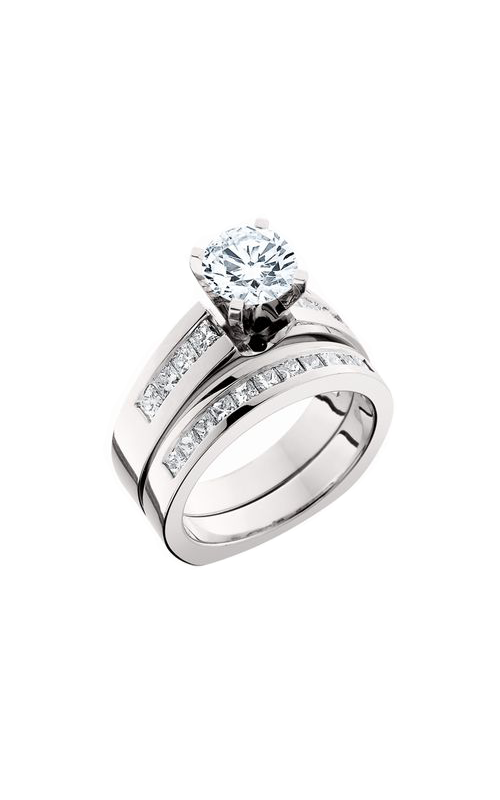 HL Mfg Engagement Sets Engagement ring 10374WSET product image