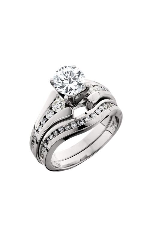 HL Mfg Engagement Sets Engagement ring 10164WSET product image