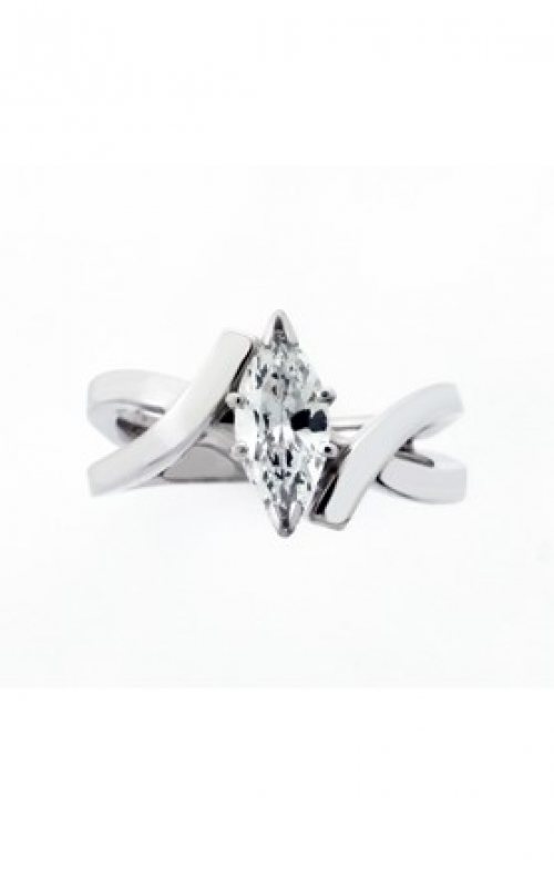 HL Mfg Contemporary Collections Engagement ring 10687CFMQW product image