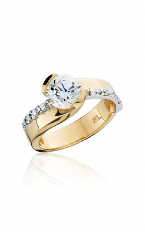 HL Mfg Contemporary Collections Engagement ring 10756TT product image
