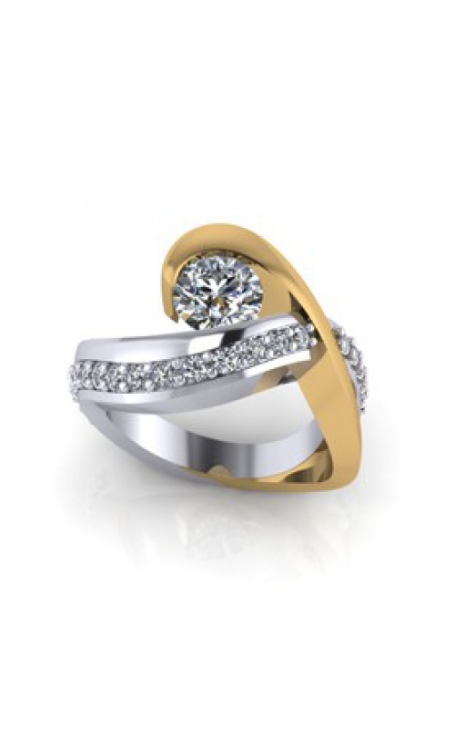 HL Mfg Contemporary Collections Engagement ring 10755 product image