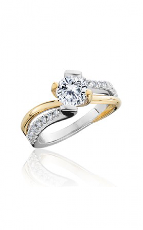 HL Mfg Contemporary Collections Engagement ring 10760TT product image