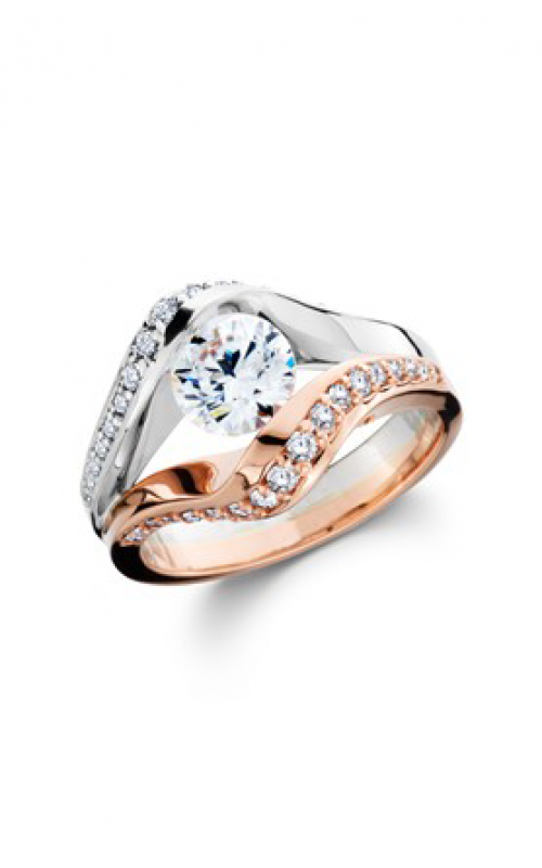 HL Mfg Contemporary Collections Engagement ring 10782RGW product image