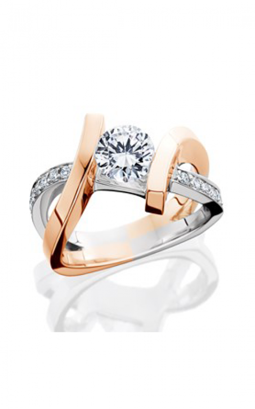 HL Mfg Contemporary Collections Engagement ring 10685RG product image
