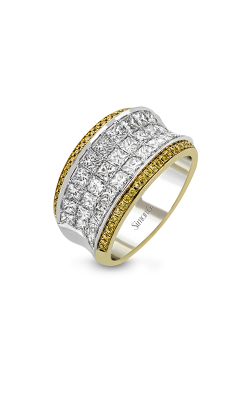 Simon G MR1902 Fashion Ring | 18K Yellow Gold & 18K White Gold product image