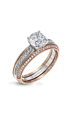 Simon G MR2713 Wedding Set | 18K White Gold, 18K Rose Gold product image