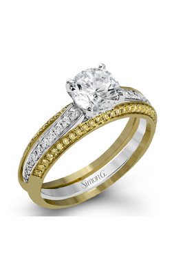 Simon G Classic Romance Wedding Set MR2713 product image