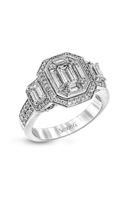 Simon G LP1996 Engagement Ring | 18K White Gold product image