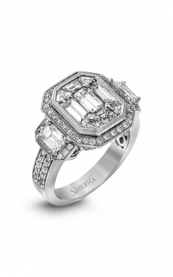 Simon G LP2061 Engagement Ring | 18K White Gold product image