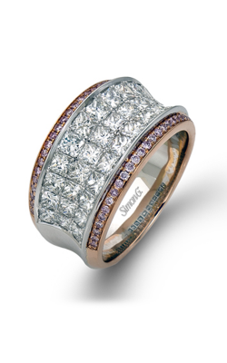 Simon G MR1902 Fashion Ring | 18K Rose Gold & 18K White Gold product image