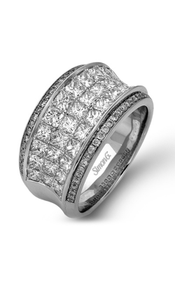 Simon G MR1902 Fashion Ring | 18K White Gold product image