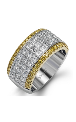 Simon G MR1725 Wedding Band | 18K White Gold, 18K Yellow Gold product image