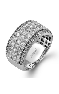 Simon G MR1725 Wedding Band 18K White Gold product image