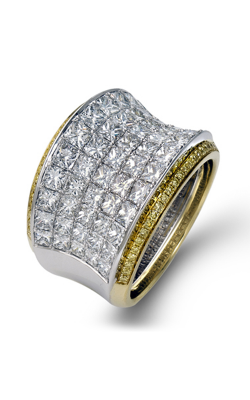 Simon G MR1720 Fashion Ring | 18K White Gold And 18K Yellow Gold product image