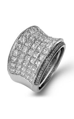 Simon G MR1720 Fashion Ring | 18K White Gold product image