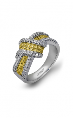 Simon G MR1428 Fashion Ring | 18K White Gold And 18K Yellow Gold product image
