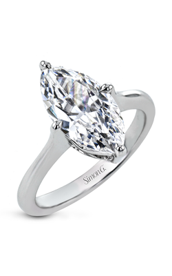 Simon G Mosaic Engagement ring PR145 product image