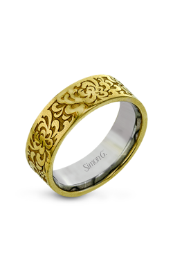 Simon G Men Collection Wedding band LG175-Y product image