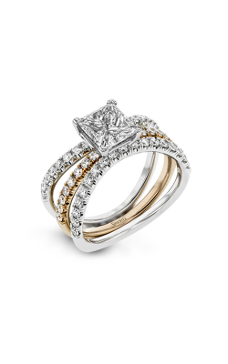 Simon G Classic Romance Wedding Set LR1083-PC product image