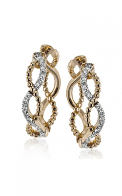 Simon G Classic Romance Earrings LE4556-R product image