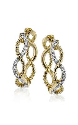 Simon G Classic Romance Earrings LE4556-Y product image