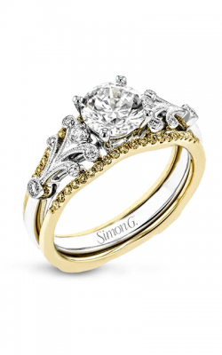 Simon G Wedding Set Engagement ring TR777 product image