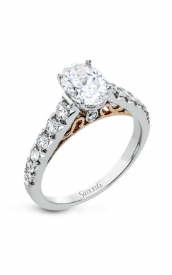 Simon G Neo Engagement Ring LP2356-OV product image