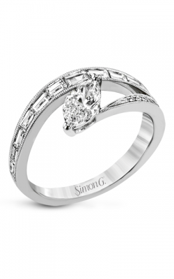 Simon G Lightning Bolt Engagement Ring LR2511 product image