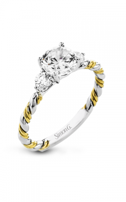 Simon G Twist Engagement Ring LR2637 product image