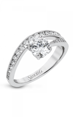 Simon G Lightning Bolt Engagement ring LR2822 product image