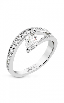 Simon G Lightning Bolt Engagement Ring LR2823 product image