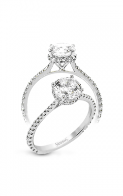 Simon G Underhalo Engagement ring LR2833 product image