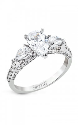 Simon G Flourish Engagement Ring LR2840 product image