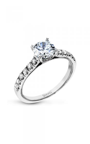 0c5db9678 Simon G Classic Romance Engagement ring TR738 product image