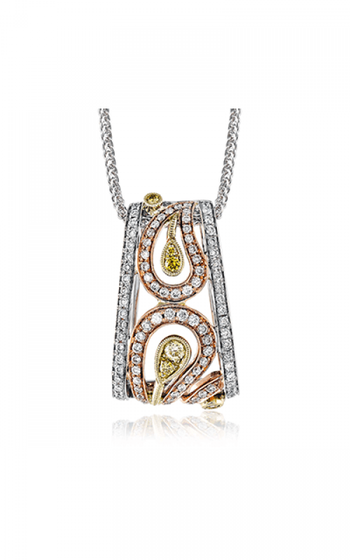 Simon G Paisley Necklace MP1478 product image