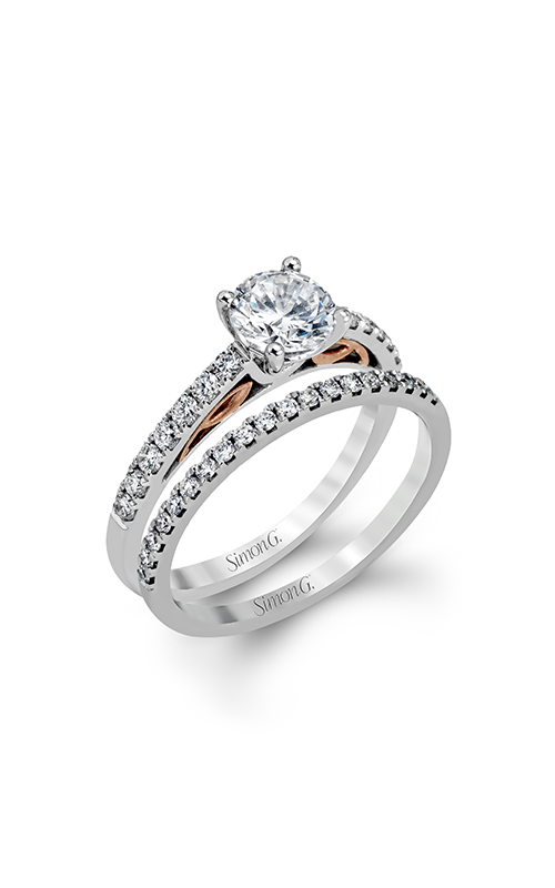 Simon G Classic Romance Wedding Set MR2546 product image