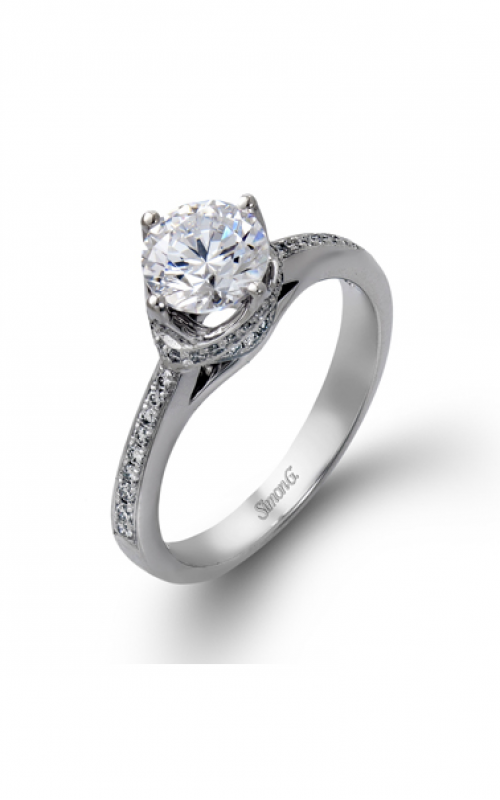 Simon G Classic Romance Engagement ring DR167 product image