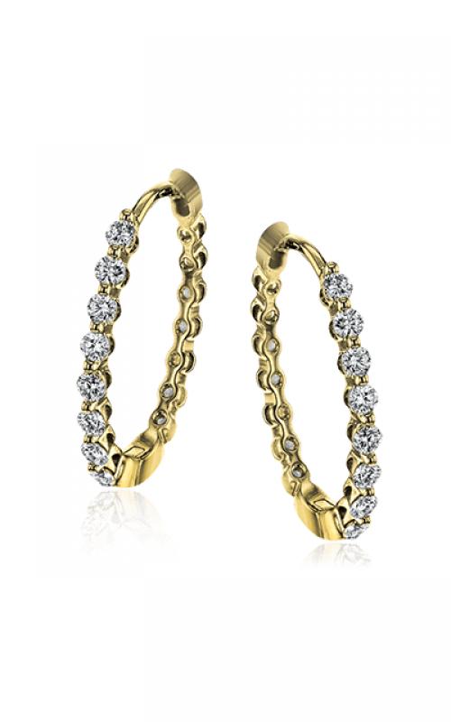 Simon G Modern Enchantment Earrings LE4548-Y product image