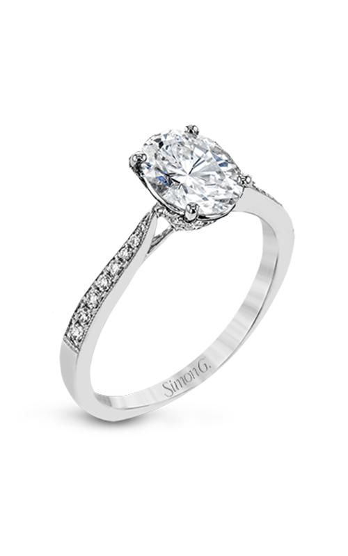 Simon G Classic Romance Engagement ring TR701-OV product image