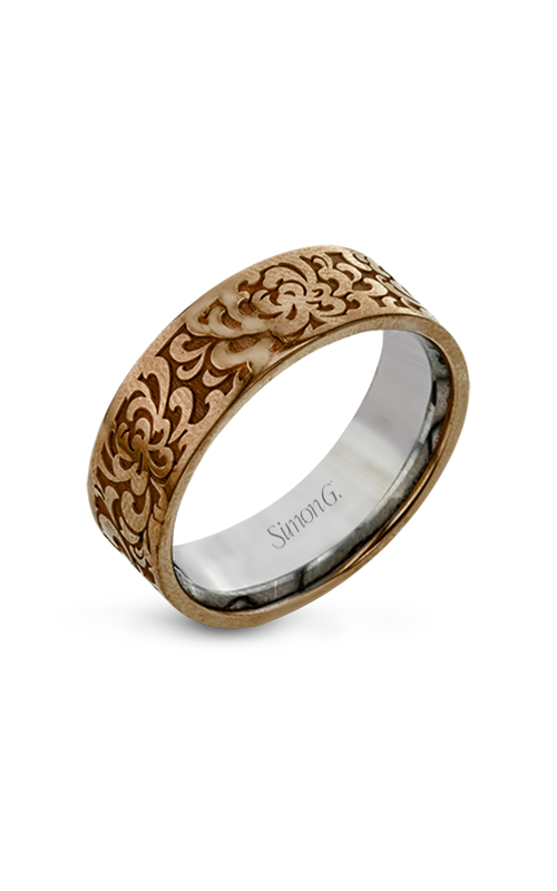Simon G Men Collection Wedding band LG175-R product image