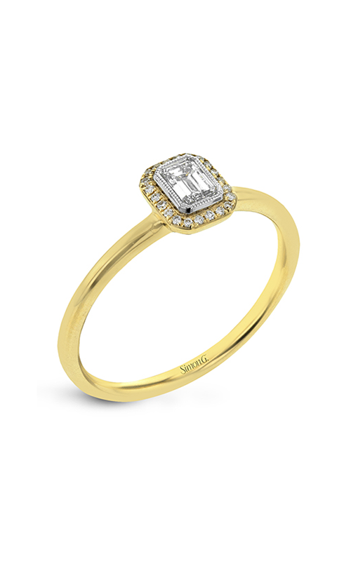 Simon G Solitaire Engagement Ring LR1170-EM product image