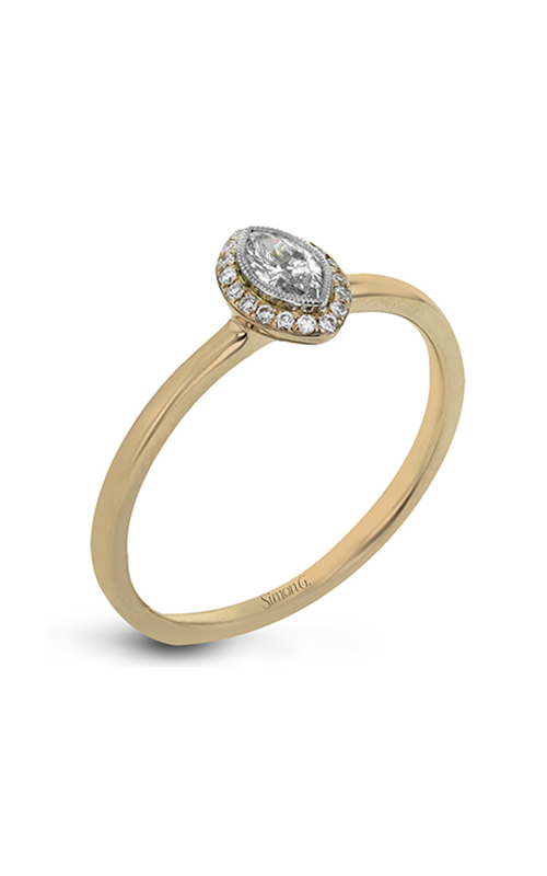 Simon G Solitaire Engagement ring LR1170-MQ product image