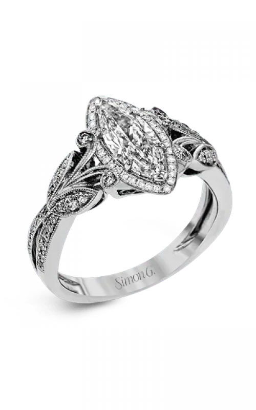 Simon G Garden Engagement ring TR629-MQ product image