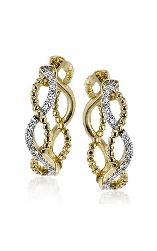 Simon G Classic Romance Earrings LE4556-Y product image